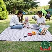 戶外便攜野餐墊防潮墊可折疊野餐布防水野炊地墊【福喜行】