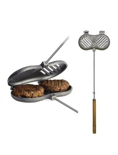 丹大戶外用品【ROME】美國 1525 雙子星烤具 鑄鐵盤/烤派盤/鑄鐵烤夾/鐵盤