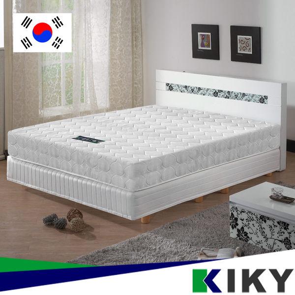 彈簧床墊/單人加大3.5尺-【二代韓式】克萊兒高碳鋼舒眠型~台灣自有品牌-KIKY~2Korea