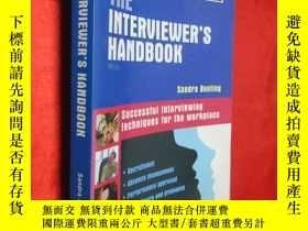 二手書博民逛書店The罕見Interviewer s Handbook: Suc