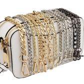 交換禮物-包包鍊條帶配件帶包鍊子單肩帶斜挎背包帶子斜跨寬鐵鍊單買金屬鍊