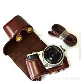索尼微單相機包ilce-a6000 a6300 a6400 a6100 a5100保護皮套文藝 LannaS YTL