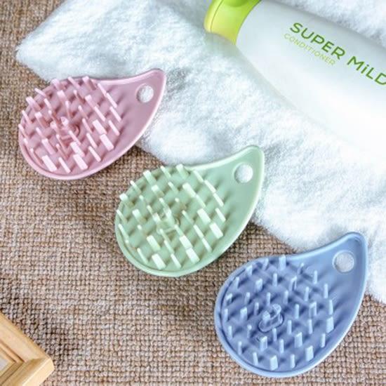沐浴按摩洗頭刷 洗頭神器 止癢 防滑 PE 按摩梳 洗髮梳 梳子 居家 浴室 頭皮刷【M48】♚MY COLOR♚