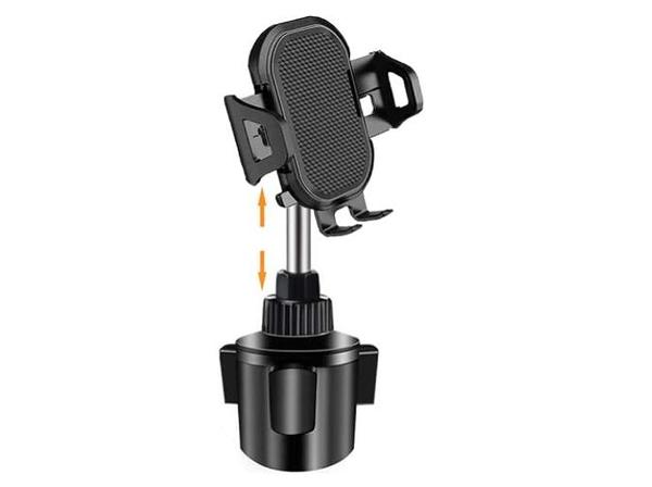 [2美國直購] 手機支架 Cup Holder Phone Mount, Adjustable Gooseneck Cup Holder for Car B08HD5TDMX