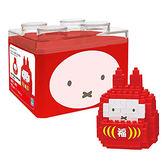 《 Nano Block 迷你積木 》NBCC-065 米菲兔 福神不倒翁╭★ JOYBUS玩具百貨