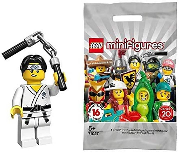 LEGO 樂高 迷你手辦 系列20 武鬥家 Martial Arts Boy 【71027-10】