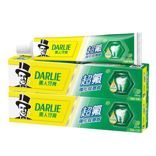 黑人超氟強化琺瑯質牙膏200gx3支裝