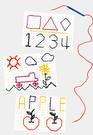 【台灣製USL遊思樂】黏線板筆組(4筆,4板) / 袋