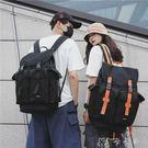 新款牛津布雙肩包男潮學院學生書包大容量防水旅行背包女 卡卡西