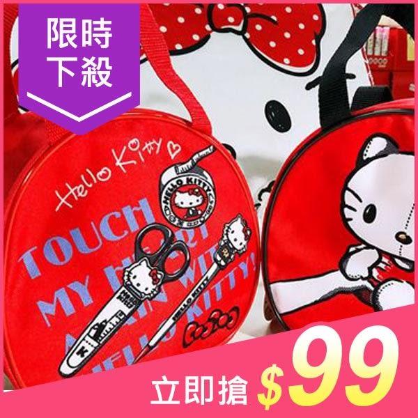 Hello Kitty 復古手提/圓形 便當袋(1入) 多款可選【小三美日】原價$129