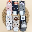 麵包超人 龍貓 咖哩超人 小病毒 細菌人 韓國襪子 短襪
