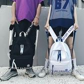 ins書包男女韓版原宿ulzzang初中高中學生背包時尚潮流帆布雙肩包 ATF 探索先鋒