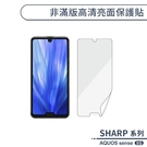夏普SHARP AQUOS sense5G 高清亮面保護貼 保護膜 螢幕貼 軟膜