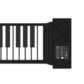 手捲鋼琴88鍵盤專業家用女初學者幼師宿舍簡易摺疊電子鋼琴便攜式NMS【美眉新品】