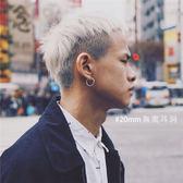 韓國鈦鋼個性潮人無孔耳環無耳洞耳夾