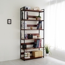 鐵藝落地六層書架 組合書櫃 展示架 置物...