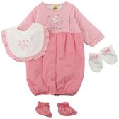 【愛的世界】鋪棉兩用嬰衣禮盒/3~6個月-台灣製- ★禮盒推薦