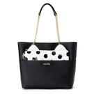 Hello Kitty手提包 貓派對系列皮革側肩背包/手提包/側背包 [喜愛屋]