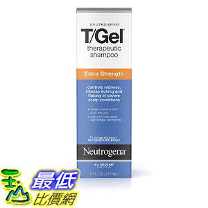 [9美國直購] Neutrogena 新款 6 oz 洗髮露 T/Gel Extra Therapeutic Shampoo with 1% Coal Tar