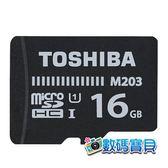 【免運費】 東芝 Toshiba EXCERIA M203 16GB microSDHC 記憶卡 (100MB/s 傳輸速度,富基公司貨) 16g microsd