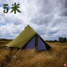 丹大戶外【CanvasCamp】SIBLEY 500 PROTECH 5米鐘型帳 (6~8人)軍綠色