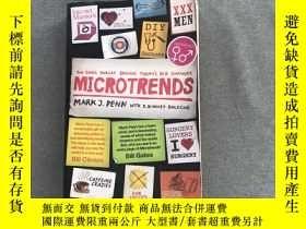二手書博民逛書店Microtrends:The罕見small forces behind today s big changes奇