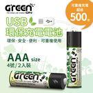 加碼送充電線【GREENON】USB 環...