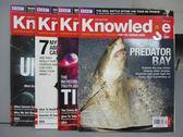【書寶二手書T7/雜誌期刊_PAE】Knowledge_Vol.5Issue9~12_共4本合售_Predator Ba