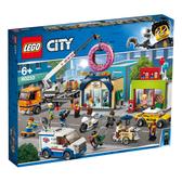LEGO樂高 城市系列 60233 甜甜圈店新開幕 積木 玩具