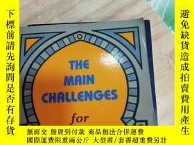 二手書博民逛書店THE罕見MAIN CHALLENGES FOR COMMITTED CHRISTIANS【英文原版】Y192