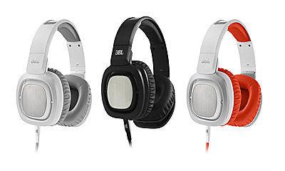 [富廉網] JBL J88 高品質頂級旗艦大型全罩式耳機 (黑/橘白色)
