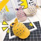 韓版卡通兔子耳朵棒球帽 寶寶棒球帽軟沿簷 男女童戶外鴨舌帽 兒童帽子春夏款