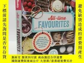 二手書博民逛書店The罕見Australian Women s Weekly All-Time Favourites 美味甜點