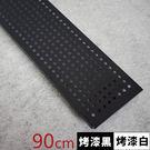 置物架 收納架 圍欄【J0105】 IRON層架專用沖孔圍欄90CM MIT台灣製  收納專科