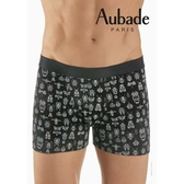 Aubade man-舒棉M-XL平口褲(昆蟲)
