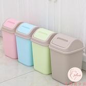 垃圾桶帶蓋客廳臥室辦公室用簡約衛生間廁所翻蓋紙簍馬桶~大碼百分百~