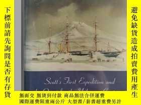 二手書博民逛書店Antarctica罕見Unveiled: Scott s First Expedition and the Qu