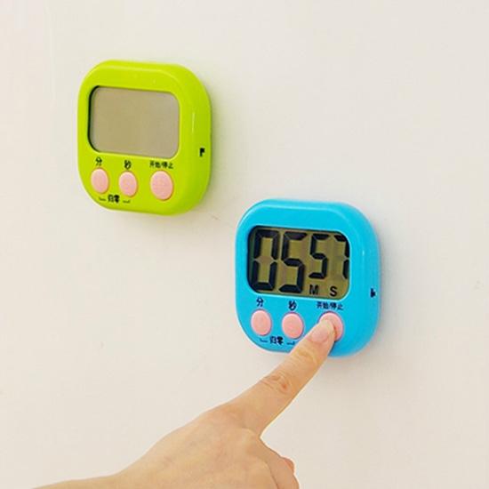 倒數計時器 定時器 計時器 正數計時器 大螢幕 磁吸式 可掛 大屏幕 電子計時器【N157】慢思行