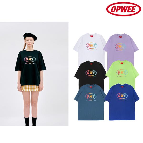 【韓國OPWEE】movement短袖上衣(顏色任選)