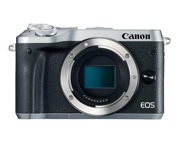 【聖影數位】Canon EOS M6 [單機身] 2420萬像素 微單眼 無反相機 台灣佳能公司貨
