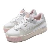 Puma 休閒鞋 Cali Sport Mix Wns 白 灰 女鞋 運動鞋 厚底 【PUMP306】 37120202