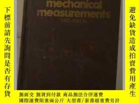 二手書博民逛書店英文原版罕見Mechanical Measurements by