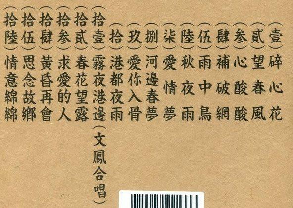 郭金發典藏集1  CD (音樂影片購)