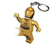 【 樂高積木 LEGO 】LED 鑰匙圈 - 星際大戰 - C3P0╭★ JOYBUS玩具百貨
