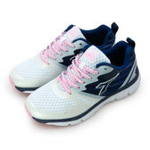 LIKA夢 DIADORA 迪亞多那 專業輕量避震慢跑鞋 創世天使系列 白藍銀 6018 女