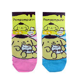 non-no儂儂褲襪《5入》日本製三麗鷗童襪(布丁狗與小倉鼠)4262-624