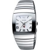 RADO 雷達 Sintra 銀鑽系列陶瓷機械手錶 13598102
