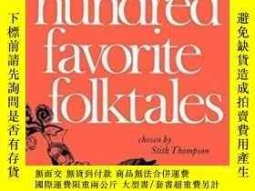二手書博民逛書店One罕見Hundred Favorite Folktales