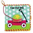 美國Manhattan Toy-Find the Ball 尋找球球軟布書