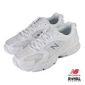 New balance 530 白色 網布 休閒運動鞋 女款 NO.B1477【新竹皇家 MR530FW1】